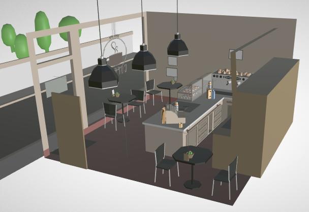 Barista Express' café scene.